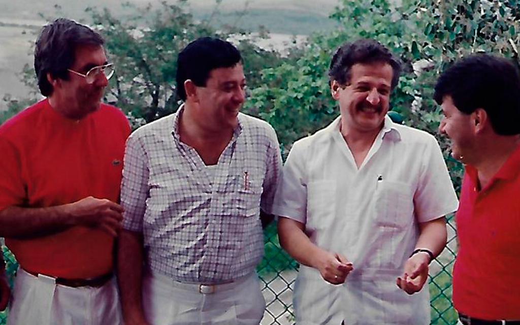 JJGR con Luis Carlos Galán.